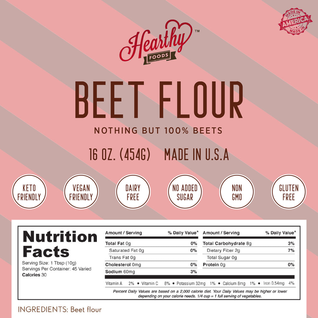 Beet Flour- Handcrafted by Us