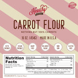 Carrot Flour-Handcrafted
