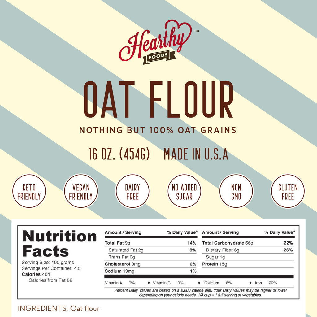 Oat Flour -Handcrafted