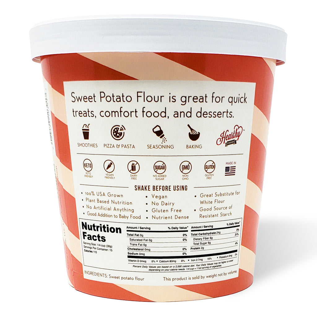 sweet potato flour back