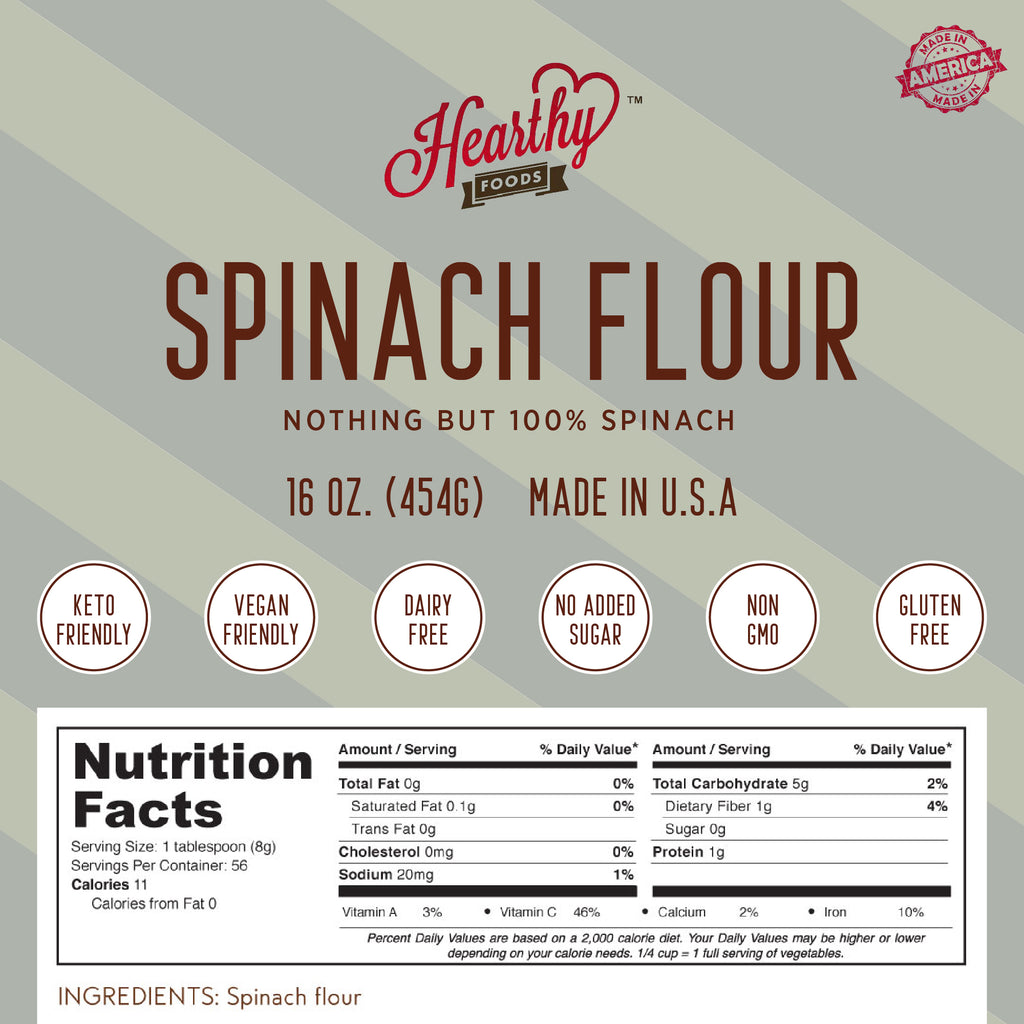 Spinach Flour-Handcrafted