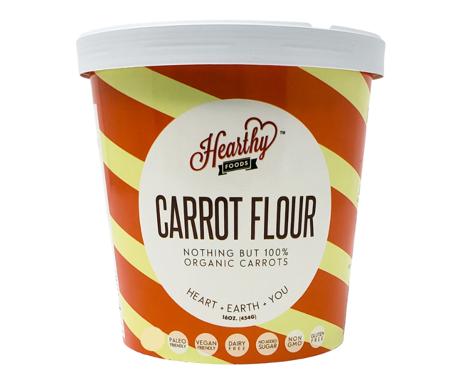 Carrot Flour (Handcrafted to Perfection)