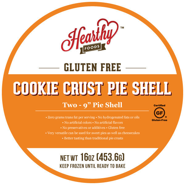 Cookie Crust Gluten Free Pie Shells - Hearthy Foods
