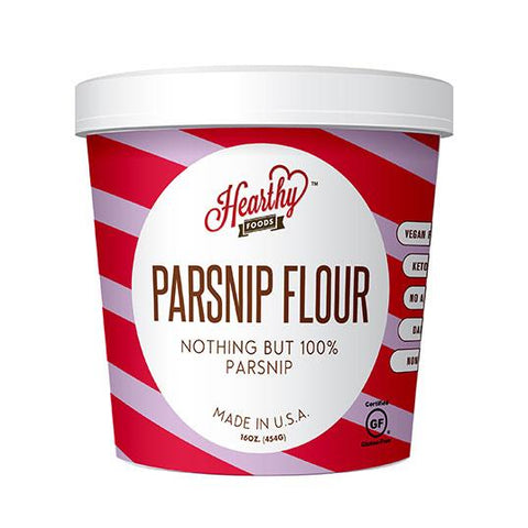 Parsnip Flour-Handcrafted