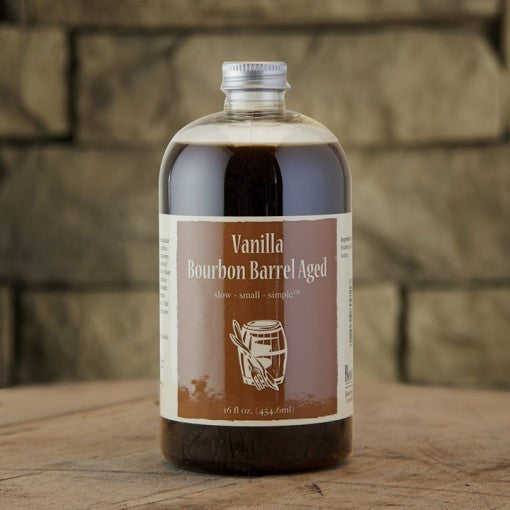 Bourbon-Madagascar Barrel-Aged Vanilla Extract