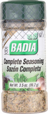 Badia Spices Complete Seasoning - Case Of 12 - 3.5 Oz.