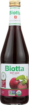 Biotta Organic Juice - Beet Root - Case Of 6 - 16.9 Fl Oz.