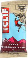 Clif Bar Organic Energy Bar - Berry Pomegranate Chia - Case Of 12 - 2.4 Oz Bars