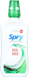 Spry Oral Rinse - Spearmint - Case Of 1 - 16 Fl Oz.