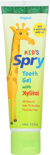 Spry Xylitol Tooth Gel - Original - Case Of 1 - 2 Fl Oz.