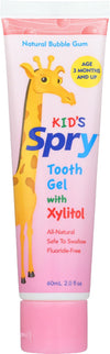 Spry Kid's Tooth Gel - Case Of 1 - 2 Fl Oz.