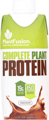 Plantfusion Plant Protein - Ready To Drink - Chocolate - 11 Oz - Case Of 12