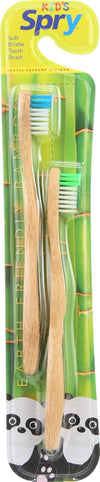 Spry Bamboo Toothbrush   - Case Of 12