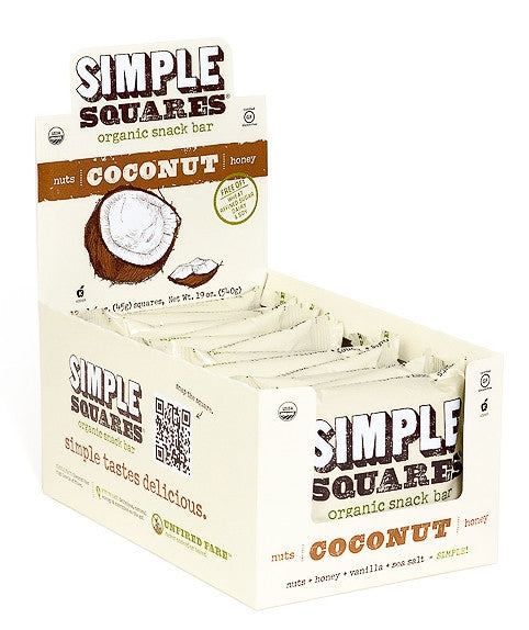 Simple Squares - Organic Nutrition Bars
