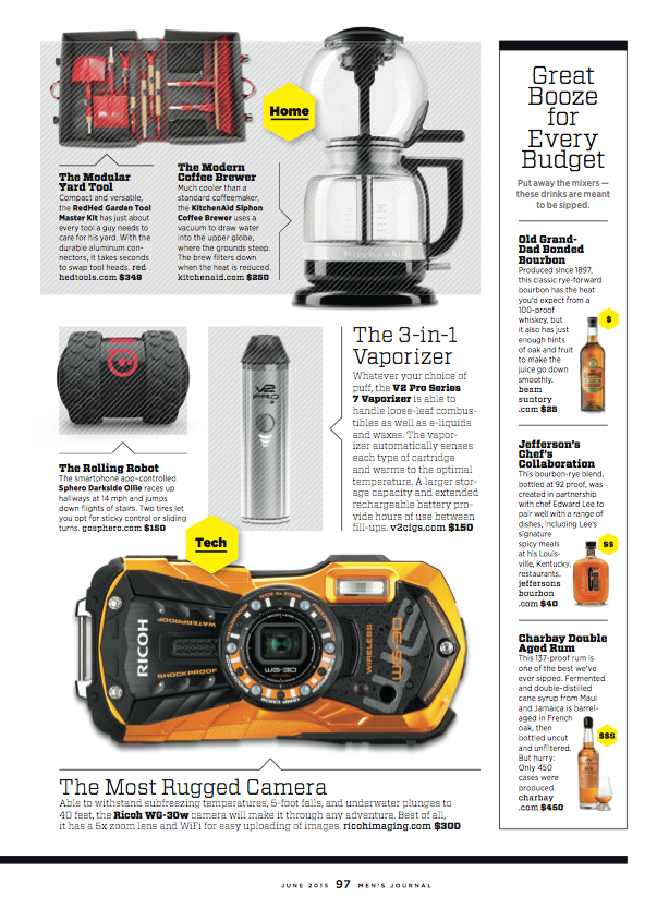 redhed tools in mens journal