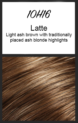 Allure Large by Jon Renau, Color: 10H16 (Latte)