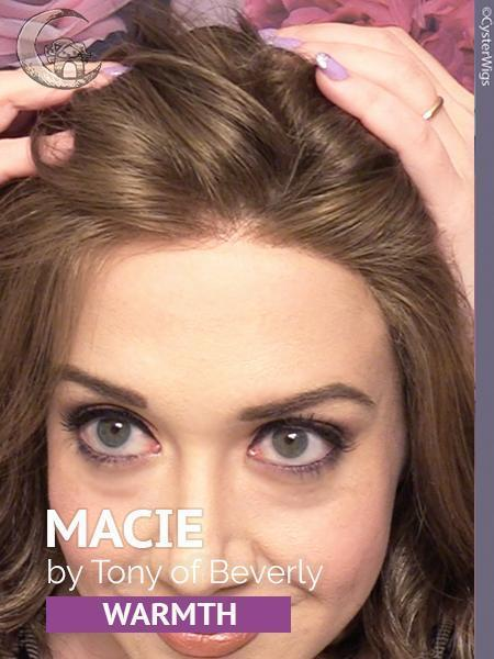Macie by Tony of Beverly, Color: Ginger Brown