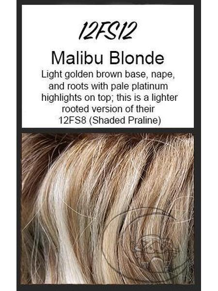 "easiPart HD XL 8"" by EasiHair, Color: 12FS12 (Malibu Blonde) -- BEST DEAL!"