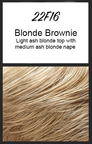 Mila by Jon Renau, Color: 22F16 (Blonde Brownie)