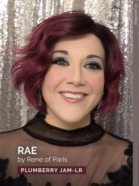 Rae by Rene of Paris Hi Fashion, Color: Rusty Red