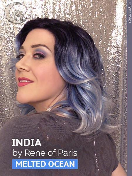 India by Rene of Paris Hi Fashion, Color: Melted Ocean