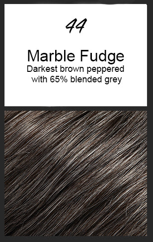 Allure Petite by Jon Renau, Color: 44 (Marble Fudge)