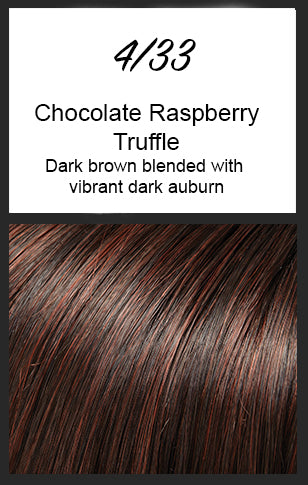 Julianne Petite by Jon Renau, Color: 4/33 (Chocolate Raspberry Truffle)