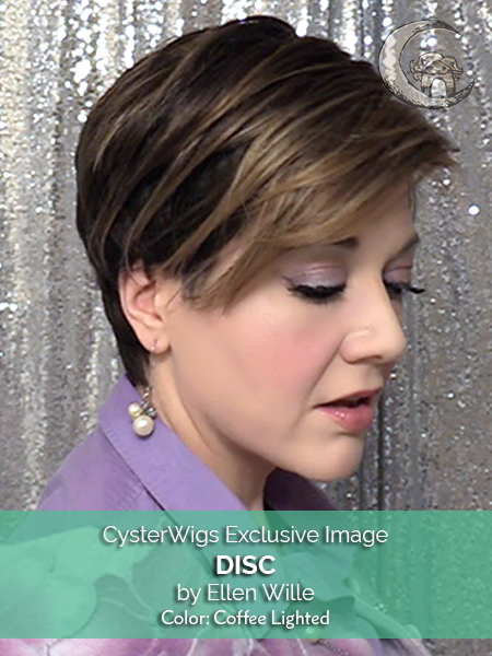 Disc by Ellen Wille, Color: Champagne Rooted