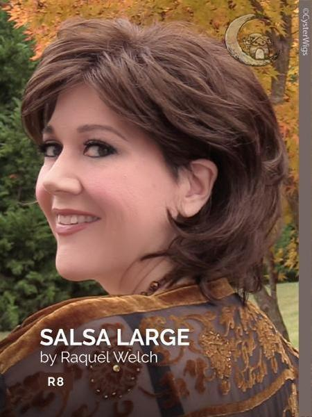 Salsa Large by Raquel Welch, Color: R56/60 (Silver Mist) -- BEST DEAL!