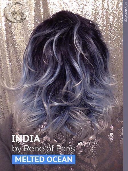 India by Rene of Paris Hi Fashion, Color: Silver Stone