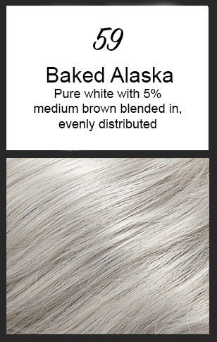 Allure by Jon Renau, Color: 59 (Baked Alaska)