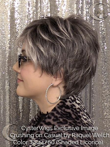 Crushing on Casual by Raquel Welch. Color: R56/60 (Silver Mist)