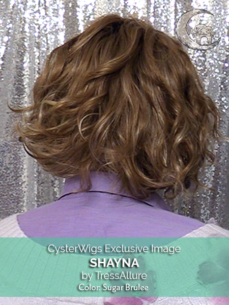 Shayna by TressAllure, Color: Sugar Brulee