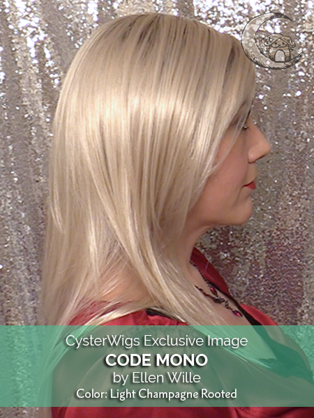 Code Mono by Ellen Wille, Color: Light Champagne Rooted -- BEST DEAL!