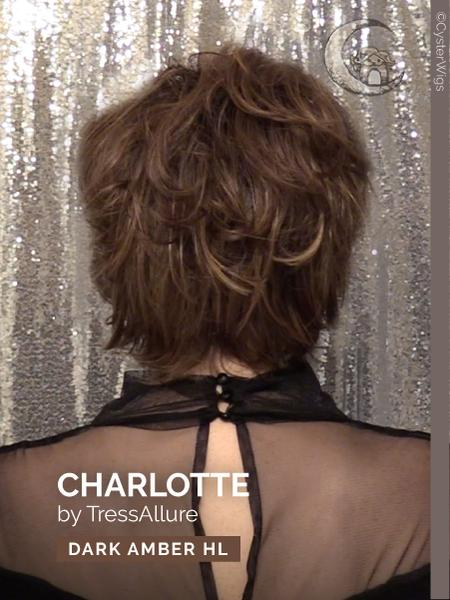 Charlotte by TressAllure, Color: Pecan Twist