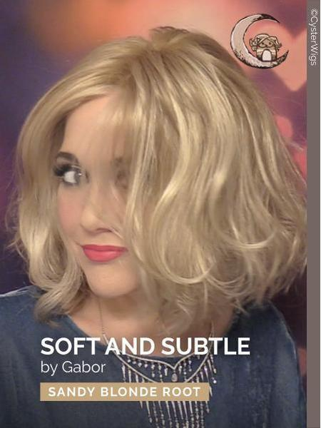 Soft & Subtle Average-Large by Gabor, Color: GL14/22SS (Shaded Sandy Blonde)