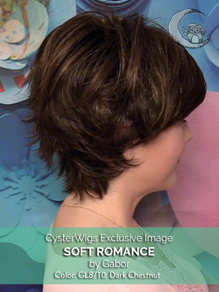 Soft Romance by Gabor, Color: GL8/10 (Dark Chestnut)
