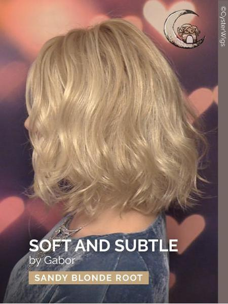 Soft & Subtle Average-Large by Gabor, Color: GL14/16SS (Shaded Honey Toast)