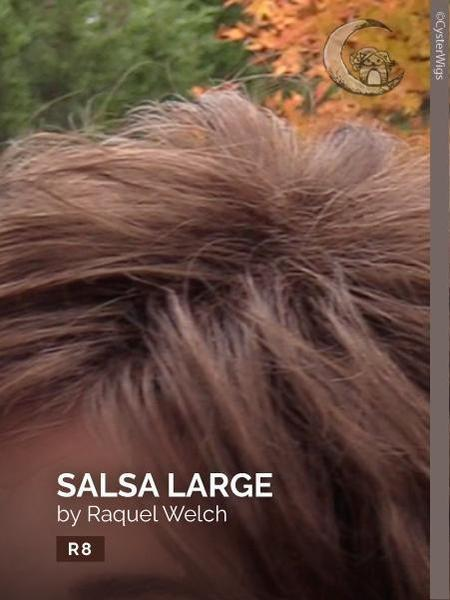 Salsa Large by Raquel Welch, Color: R11S+ (Glazed Mocha)
