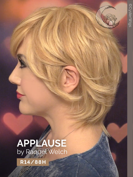 Applause (Human Hair) by Raquel Welch, Color: R14/88H (Golden Wheat) -- BEST DEAL!