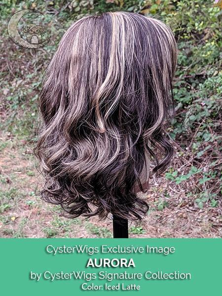 Aurora by CysterWigs Signature Collection, Color: Iced Latte -- BEST DEAL!