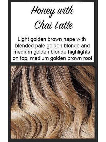 Lady Latte by BelleTress, Color: Honey With Chai Latte