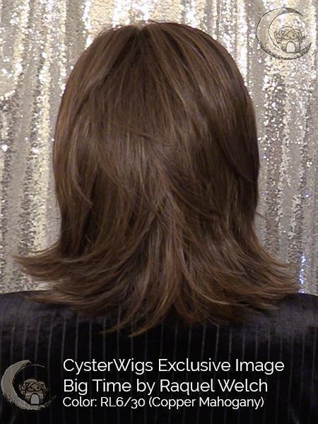Big Time by Raquel Welch, Color: RL4/10SS (Shaded Iced Java)