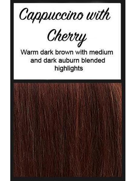 Cascara by BelleTress, Color: Cappuccino With Cherry -- BEST DEAL!