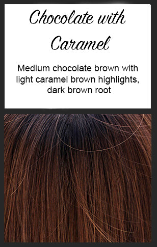 Nikki Lace Front by BelleTress, Color: Chocolate with Caramel