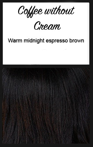 "Lace Front Mono Top Wave 14"" by BelleTress, Color: Coffee without Cream"