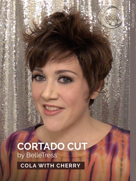 Cortado Cut by BelleTress, Color: Mocha with Cream