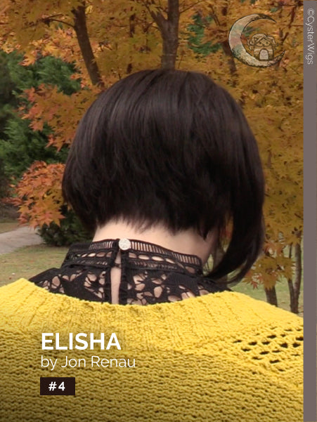 Elisha by Jon Renau, Color: 4 (Brownie Finale) -- BEST DEAL!
