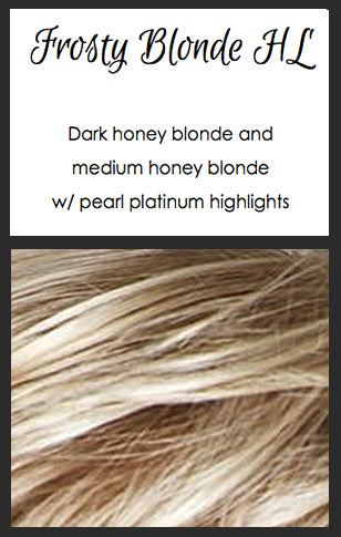 Karla by TressAllure, Color: Frosty Blonde HL