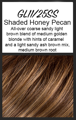 Radiant Beauty by Gabor, Color: GL11/25SS (Shaded Honey Pecan) -- BEST DEAL!